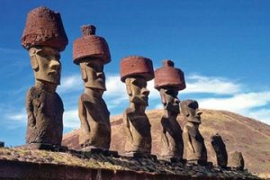 easter island senior leaders w hats